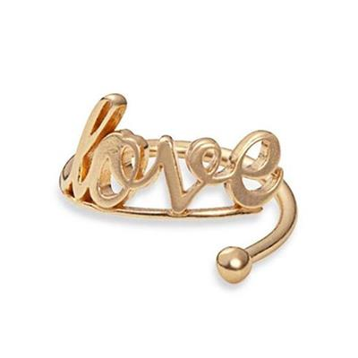 Buy Alex and Ani Love Ring Wrap in Gold