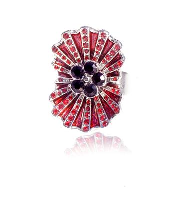 Buy Kleshna Remembrance Poppy Ring