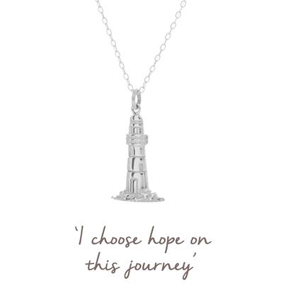 Buy Mantra Lighthouse Necklace in Silver