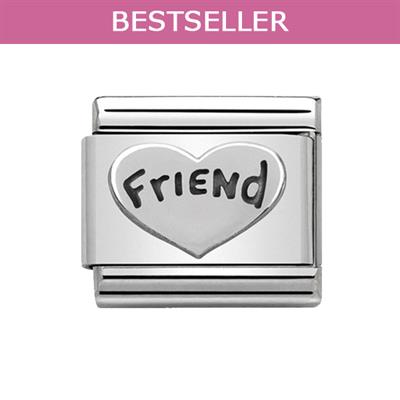 Buy Nomination Silvershine Friend in Heart