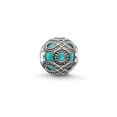 Buy Thomas Sabo Turquoise Ornamentation Karma Bead