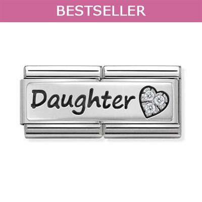 Buy Nomination Daughter CZ Double Link