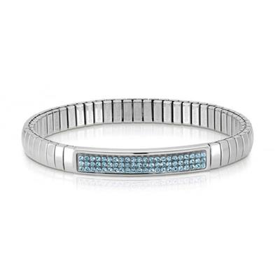 Buy Nomination Silver and Blue Swarovski Extension Bracelet