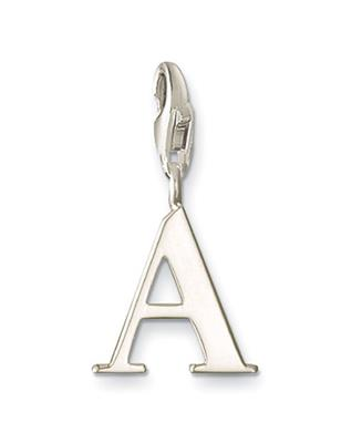 Buy Thomas Sabo Silver Letter A Charm