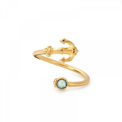 Buy Alex and Ani Anchor Wrap Ring in Gold
