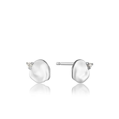 Buy Ania Haie Silver CZ Crush Studs