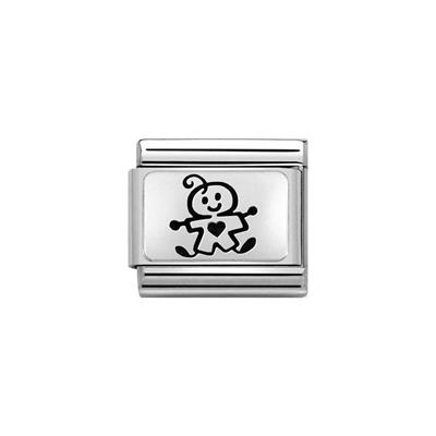 Buy Nomination Silver Baby Boy Charm