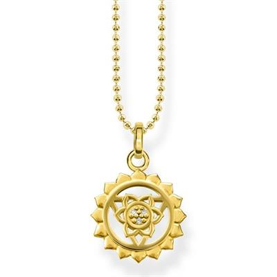 Buy Thomas Sabo Yellow Gold Throat Chakra Necklace