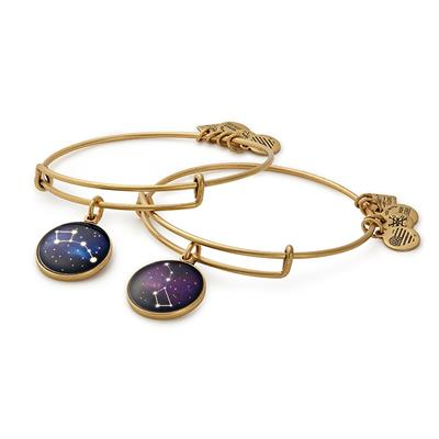 Buy Alex and Ani Big and Little Dipper Set of 2 in Rafaelian Gold