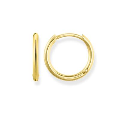 Buy Thomas Sabo Medium Gold Hinged Hoop Earrings