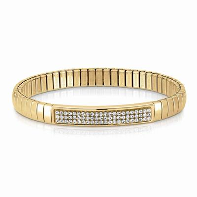 Buy Nomination Gold and White Swarovski Extension Bracelet