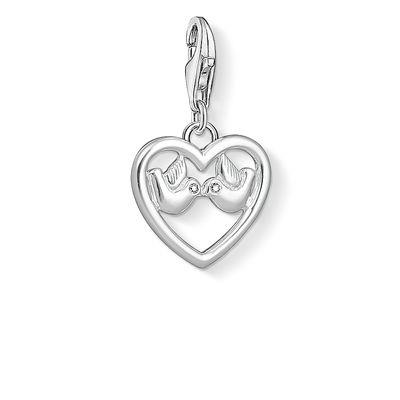 Buy Thomas Sabo Charm  Heart With Doves