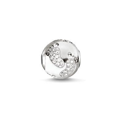 Buy Thomas Sabo Baby Footprint Karma Bead in Silver