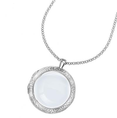 "Buy Dower and Hall Silver Large Cherish Locket 18"" Chain"