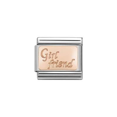 Buy Nomination Rose Gold Girlfriend Charm
