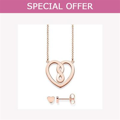 Buy Thomas Sabo Rose Gold Valentine's Heart Set