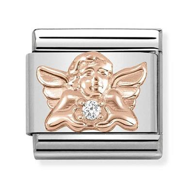 Buy Nomination Rose Gold Angel of Family Charm