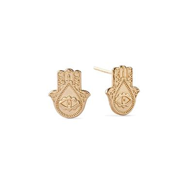 Buy Alex and Ani Hand of Fatima Precious Studs in Gold