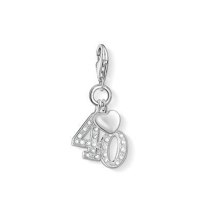 Buy Thomas Sabo 40th Birthday Charm