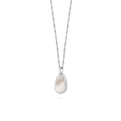Buy Daisy Silver Mother of Pearl Necklace
