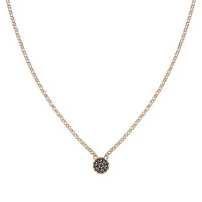 Buy Nomination Rose Gold Gioie Black Necklace