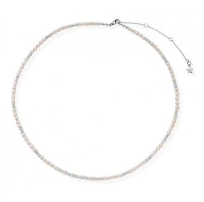 Buy ChloBo Champagne Kisses Necklace | Sterling Silver & Freshwater Pearls