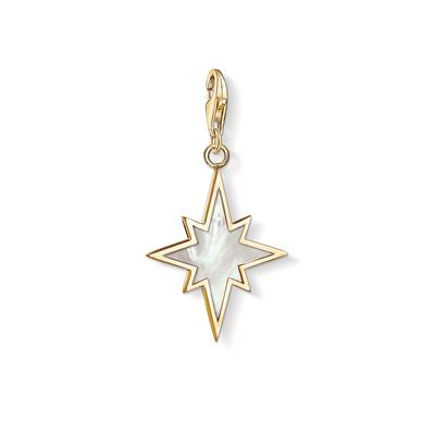 Buy Thomas Sabo Gold Mother of Pearl North Star Charm