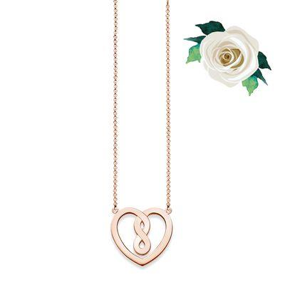 Buy Thomas Sabo GLAM&SOUL Infinity Heart Necklace in Rose Gold