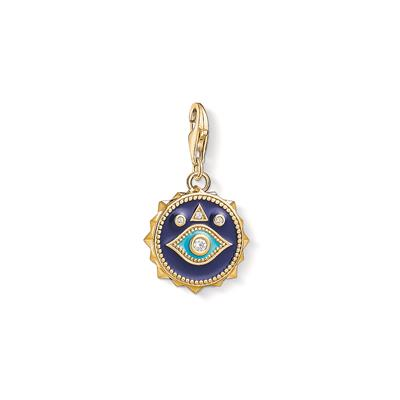 Buy Thomas Sabo Gold Blue Nazar's Eye Charm