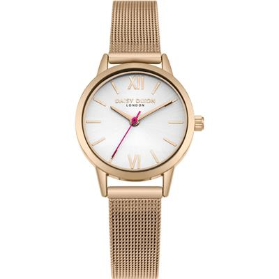 Buy Daisy Dixon Rose Gold Kendall Mesh Watch
