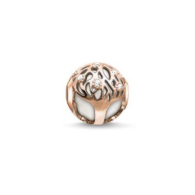 Buy Thomas Sabo Rose Gold Tree of Life Karma Bead