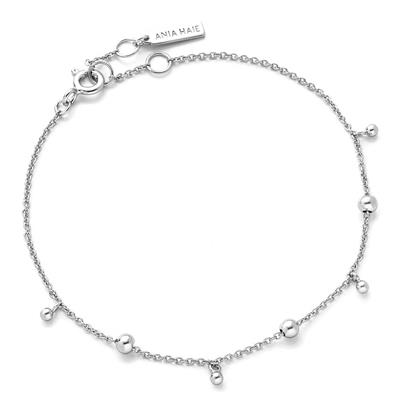 Buy Ania Haie Silver Beaded Bracelet