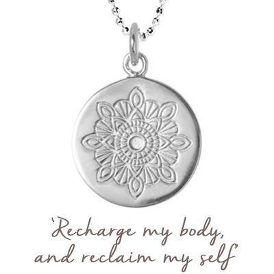 Buy Mantra Julie Montagu Recharge Necklace in Silver