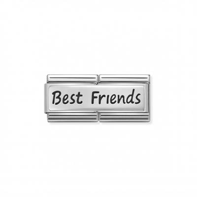 Buy Nomination Best Friends Silvershine Double Link