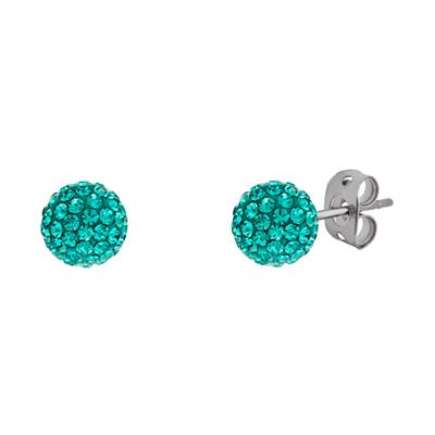 Buy Tresor Paris Jade 8mm BonBon Studs