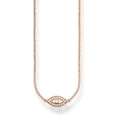 Buy Thomas Sabo Rose Gold Nazar's Eye Necklace