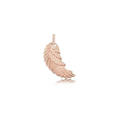 Buy Engelsrufer Rose Gold Angel Wing Pendant Small