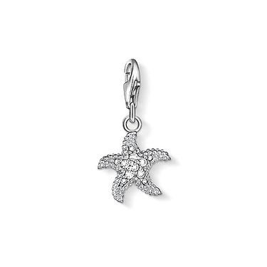 Buy Thomas Sabo Silver Starfish Charm