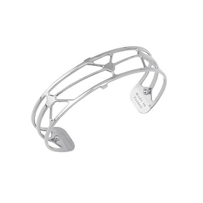 Buy Les Georgettes Slim Silver Solaire Cuff Bangle