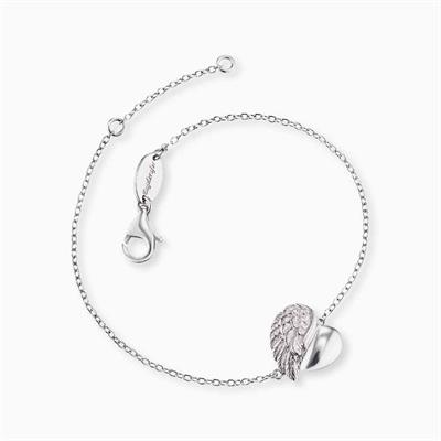 Buy Engelsrufer Silver Heart Wing Bracelet