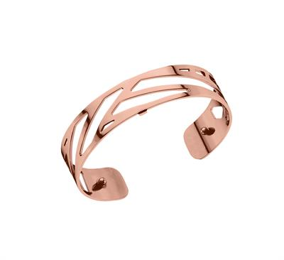 Buy Les Georgettes Slim Rose Gold Ruban Cuff Bangle