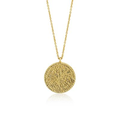 Buy Ania Haie Coin Gold Necklace