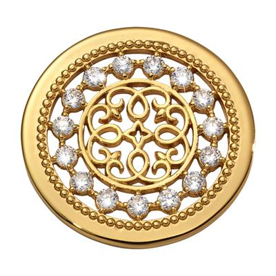 Buy Nikki Lissoni Yellow Gold Vintage Perfection Coin 33mm