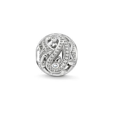Buy Thomas Sabo Silver Paisley Filigree Bead
