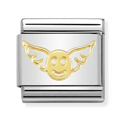 Buy Nomination Gold Angel of Happiness Charm
