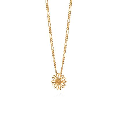 Buy Gold 12mm Daisy Vintage Necklace
