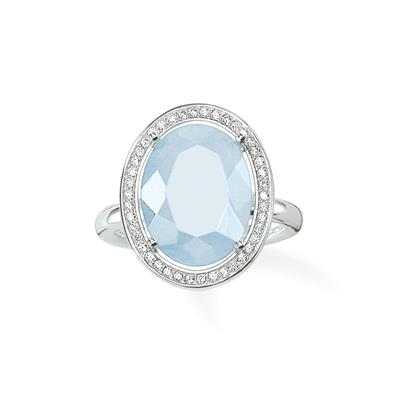 Buy Thomas Sabo Maharani Aqua Quartz Ring Size 52
