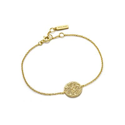 Buy Ania Haie Coin Gold Bracelet