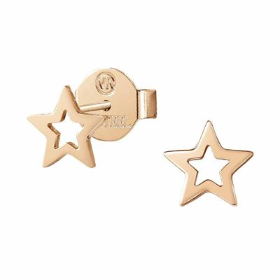 Buy Nomination Rose Gold Stardust Open Star Earrings