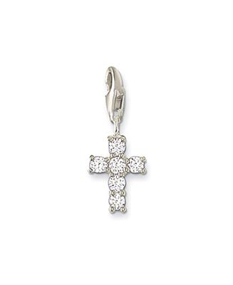 Buy Thomas Sabo Cross Charm with Cubic Zirconia